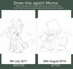 Draw This Again Meme by Nintooner
