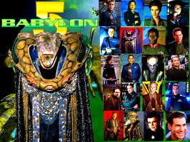 Kosh/Babylon 5 by scifiman