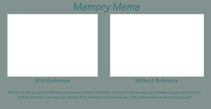 Ref vs. no Ref - Memory meme by Usei