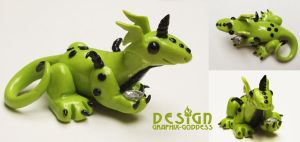 Gibby The MINI Crystal Dragon by Graphix-Goddess