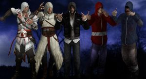 AC, PT, L4D, PBP: The Savage Hoods by SovietMentality