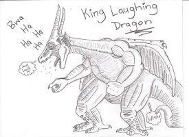 King Laughing Dragon by Leonesaurus