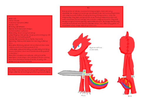 My Reference Sheet (Created by MashyLOL) by Gamertron7500