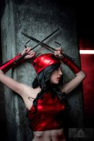 Cosplay Elektra from Marvel - Hekady by Hekady