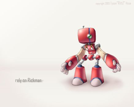 Rely on Rickman by tysonhesse