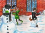 SM: Play in snow by WolfsNeverDie