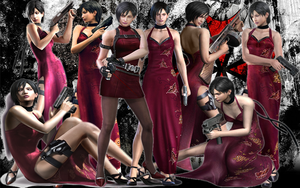Ada Wong Background by MistressYukiTraigen