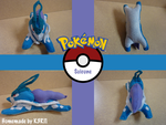 Suicune Plush by K3RI1