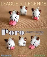 CHARM Tutorial - Poro LEAGUE of LEGENDS by GandaKris