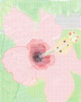 Pointillism of a Hibiscus by kay7291
