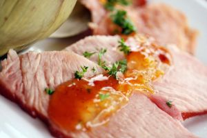Peach and Orange Baked Ham 9 by laurenjacob