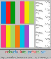 Colourful lines by NamfloW