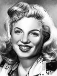 Marilyn Monroe Young by tainted-orchid