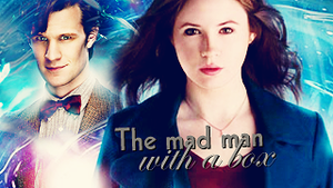 The mad man with a box by Squint-in-the-Tardis