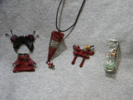 wirework projects by ElizzaBeast