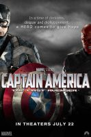 Captain America - poster by AndrewSS7