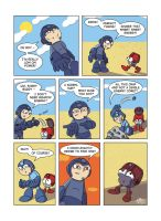 Despondent Mega Man - Idiot Box by JesseDuRona