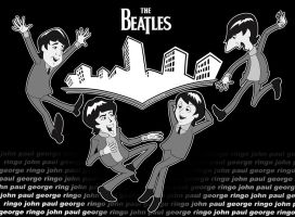 The Beatles by Gerry-Lee