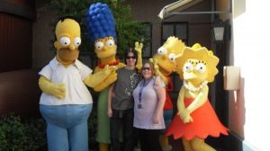 i met the simpsons by tigertaiga