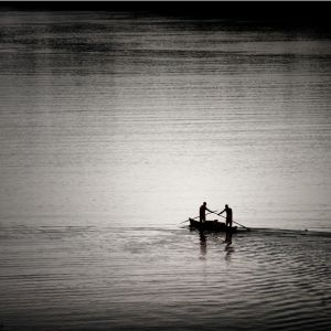 Fisherman on the go by PasoLibre