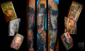 batman tattoo by ABYSS-TAT-2S