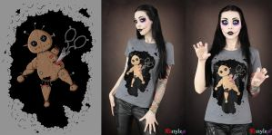 Voodoo t-shirt by Euflonica