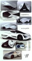 IED ABARTH scorpION - 3ds by emrEHusmen