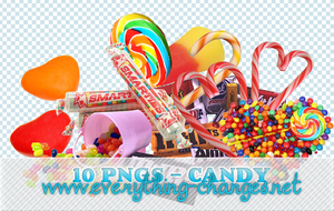 Candies 10 - Pngs by MissVBlackmore