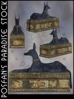 Anubis Sarcophagus by poserfan-stock