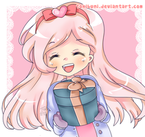 Laughter is the best kind of gift by TokiBuni