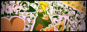 Capa Timeline Deidara Collage by willsouza