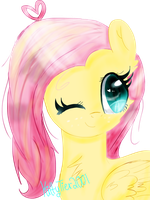 ITS SUPPOSED TO BE FLUTTERSHY by KittyTier2001
