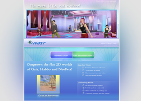 vivaty GAIA web  redesign by d-gREg