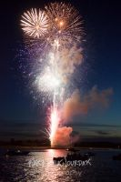 St. Michael's Fireworks - July 4th, 2014 by linde-lazer