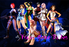 Video Game Babes 2 by LegendaryDragon90