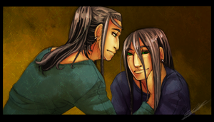 Guy and Lin by PhoxTanks
