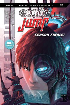Comic Jump Cover 05 by simoquin
