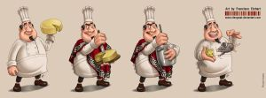 Cheese Contest_mascot by FranciscoETCHART
