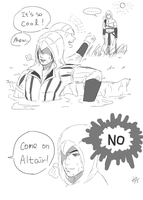 Altair Ezio : short Cartoon by truejjack