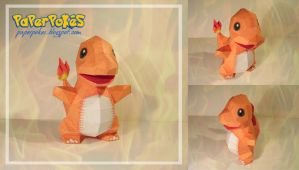 Charmander Pokedoll by Lyrin-83