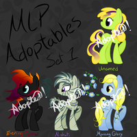 :CLOSED: Adoptables Set 1 :CLOSED: by equinepalette