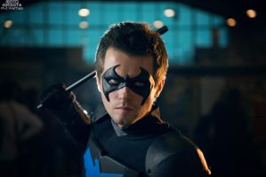 Young Nightwing cosplay by Pvt-Waffles