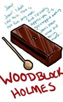 Woodblock Holmes by Onewingedjeeby