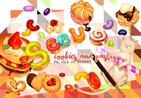 SeeU Candy and Pastry PNG pack by nymphea-cage