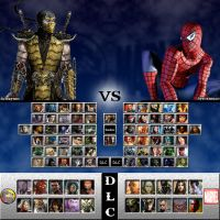 Mortal Kombat vs. Marvel Universe by sprite-genius