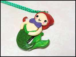 Ariel Necklace by GrandmaThunderpants