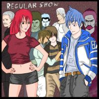 The Regular Show by iceblade9999