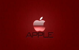 Apple Wallpaper RED by 1madhatter