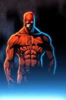 DareDevil n Color by Kid-Destructo