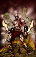 Kratos by c-crain by carol-colors